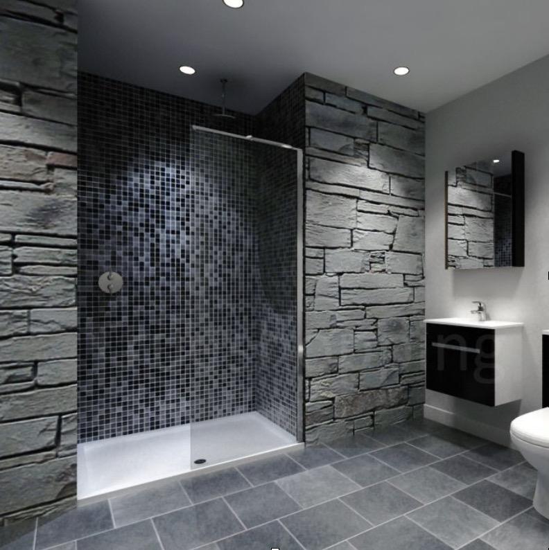 Gorgeous Natural Stone Bathrooms